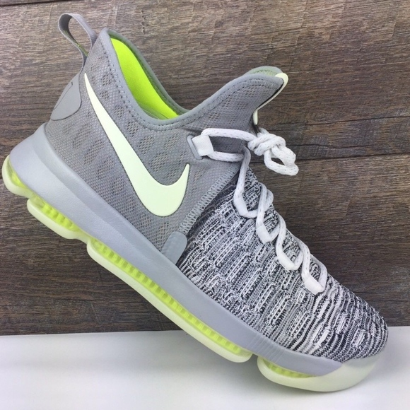 sports shoes 56848 0fd7f Nike iD KD 9 IX Basketball Shoes Glow in Dark Read